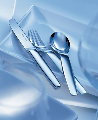 Contemporary stainless steel flatware pax by robbe and berking - Contemporary stainless flatware ...