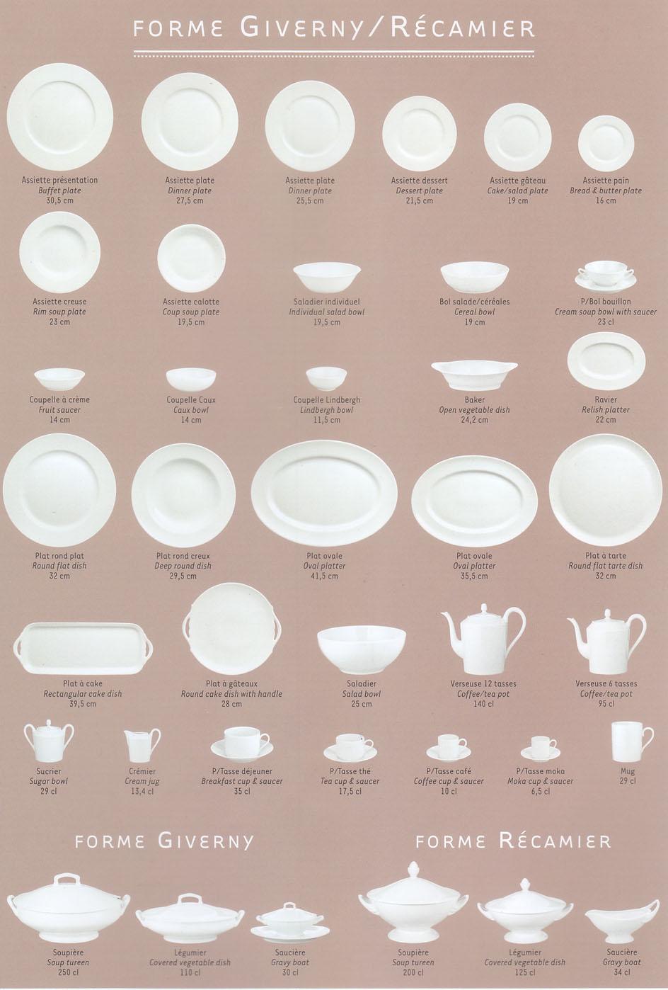 Luxury Dinnerware by Robert Haviland & C. Parlon, Bengalis