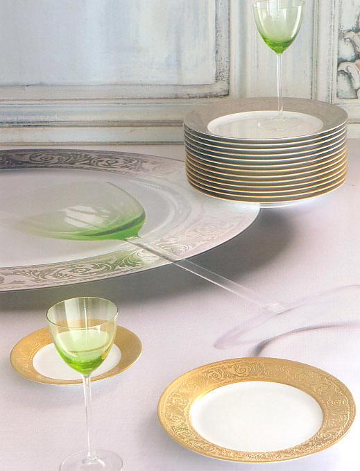 Versailles porcelain by Robert Haviland & C. Parlon