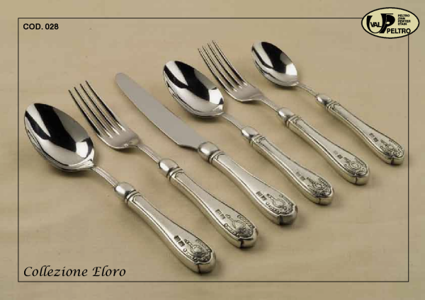 ... Italian pewter flatware pattern Eloro by Valpeltro hand fishished pewer flatware & Pewter Flatware by Valpeltro fine Italian pewter flatware