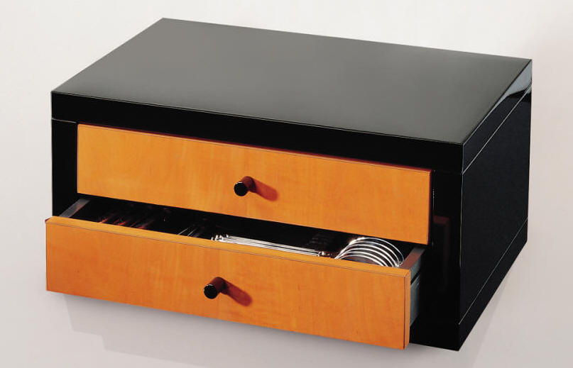 Flatware Chests| flatware chests in mahogany, red lacquer