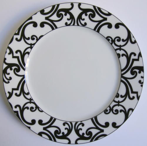 black and white dinnerware Consenza black by jammet seignolles  sc 1 st  Elegance2003 : white and black dinnerware - pezcame.com