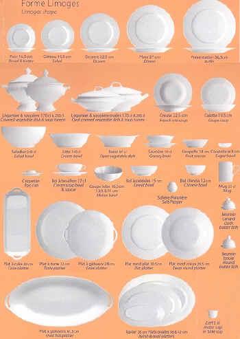 limoges shapes.jpg (214504 bytes) ...  sc 1 st  Elegance2003 & Limoges Dinnerware|Porcelain|J.Seignolles
