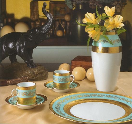 luxury dinnerware