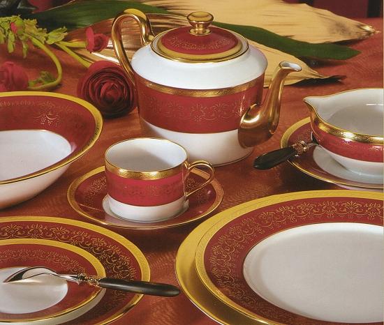 Luxury Porcelain Dinnerware Villardiere by Jammet Seignolles & Villarduere luxury Dinnerware|Luxury Dinnerware