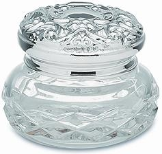 Sterling Silver Sets for Ladies, crystal and silver dressing table sets